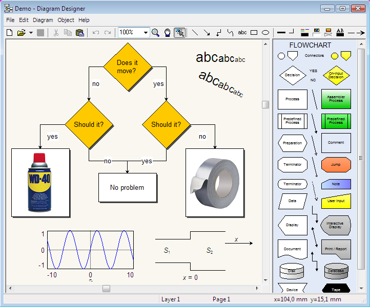 Windows 7 Diagram Designer 1.28 full